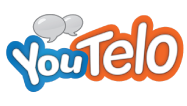 YouTelo Logo-Talk More, Spend Less